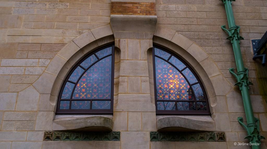 Visiter la villa Majorelle à Nancy - Fenêtres