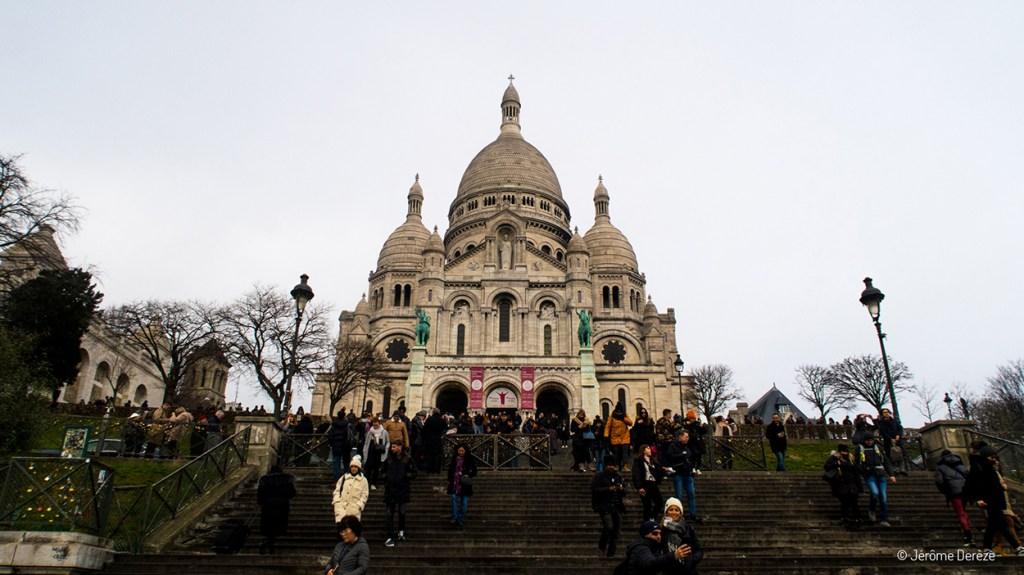 Extérieur de la Basilique du Sacré-Cœur