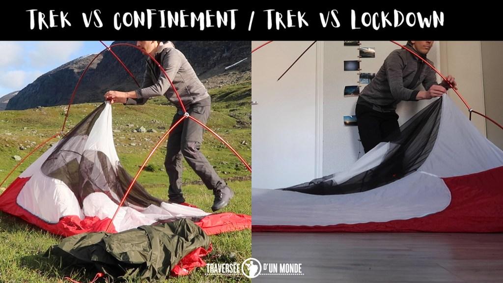Trek VS Confinement - Lockdown Restez chez vous / Restez à la maison