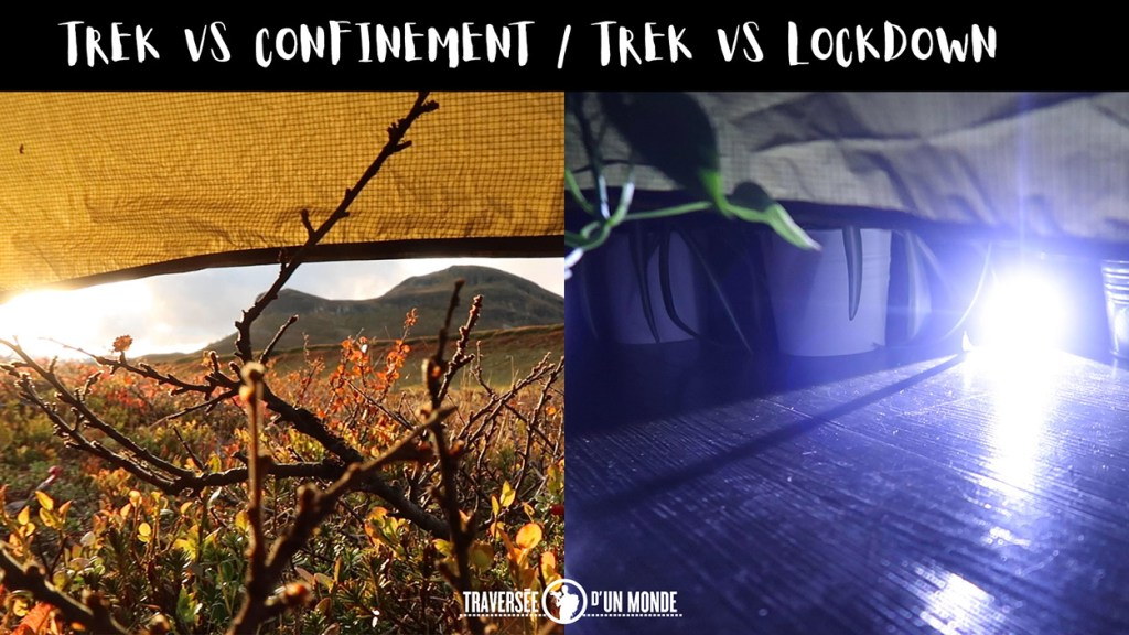 Travelhomechallenge Trek VS Confinement - Lockdown