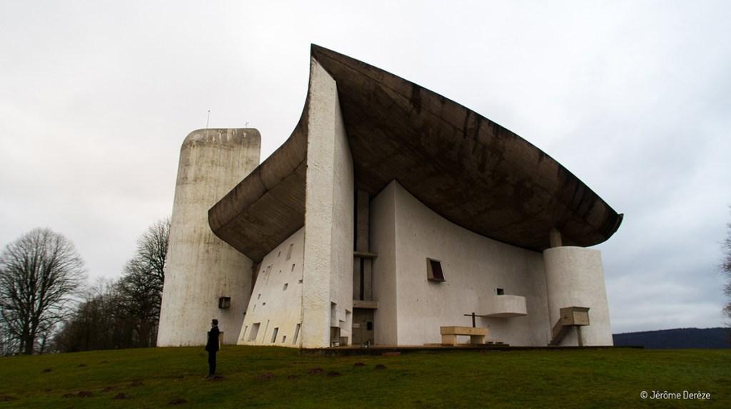 Colline Notre-Dame du Haut de Le Corbusier à Ronchamp