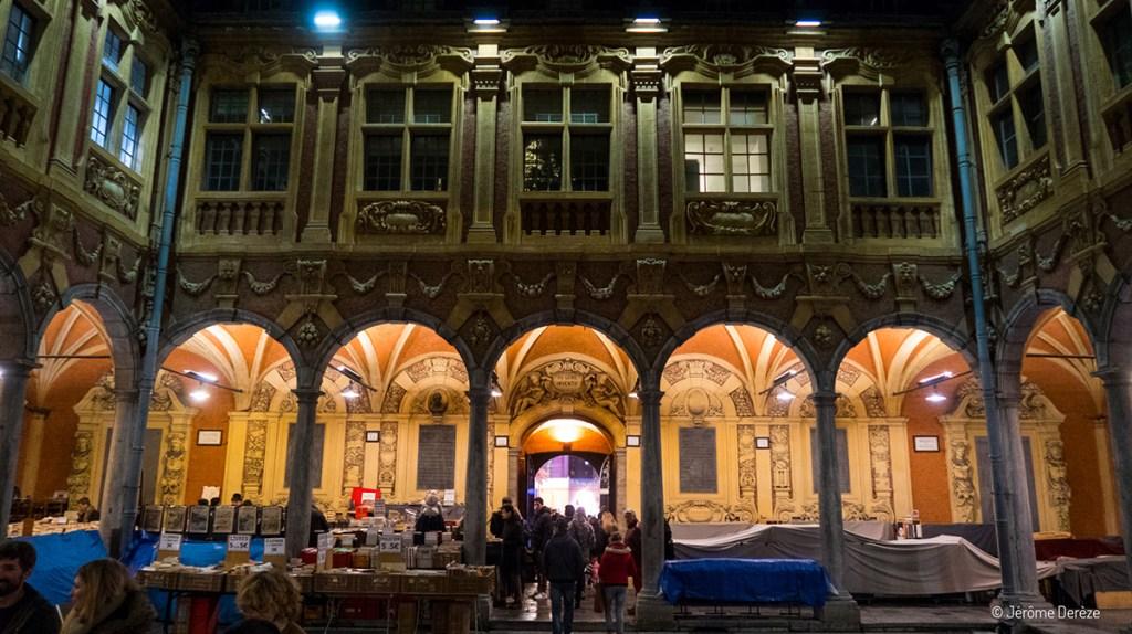 Visiter la vieille bourse de Lille