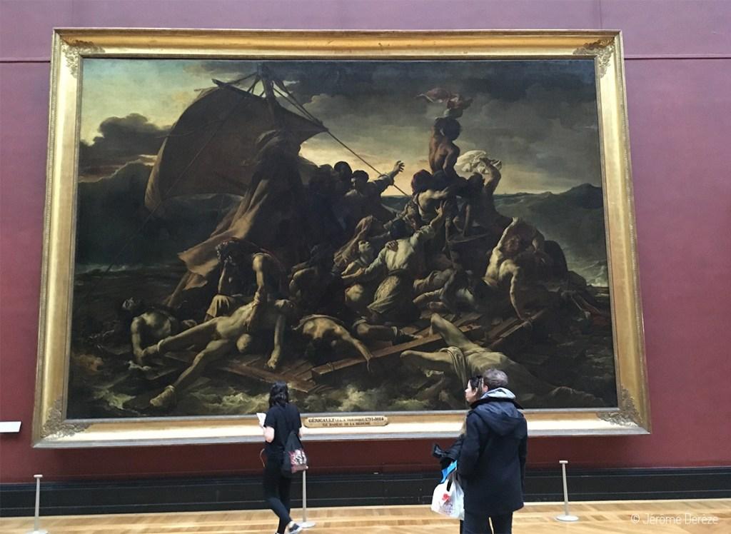 radeau de la méduse de Géricault au Louvre