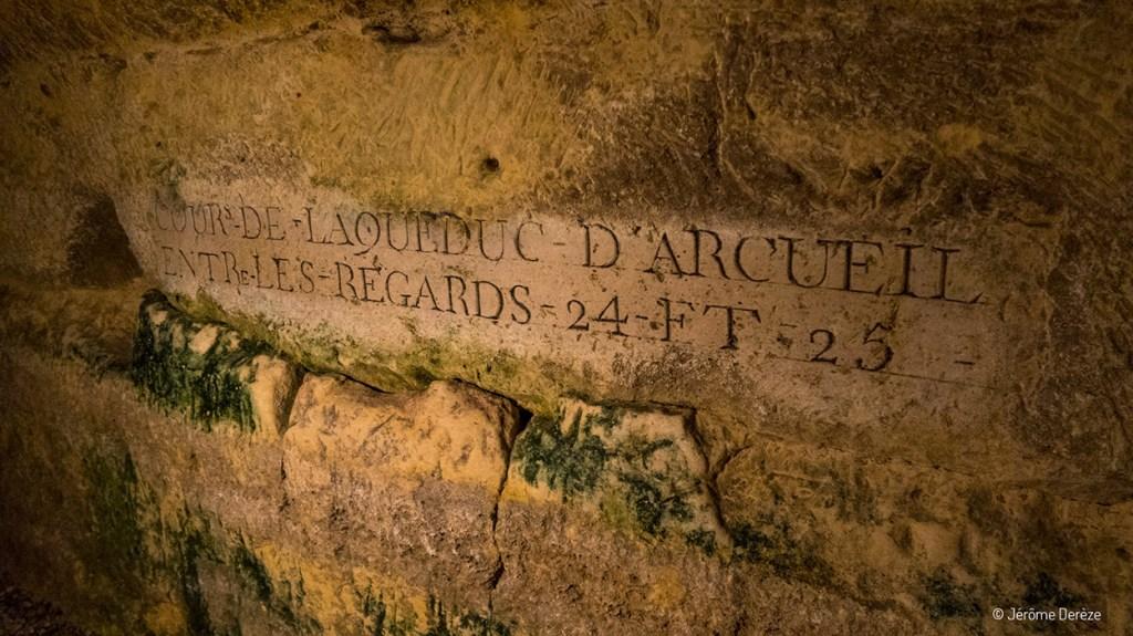texte mural catacombes de paris