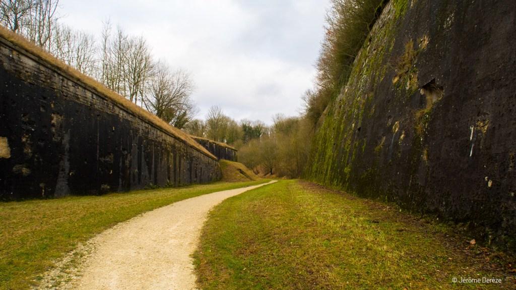 remparts de la citadelle de verdun