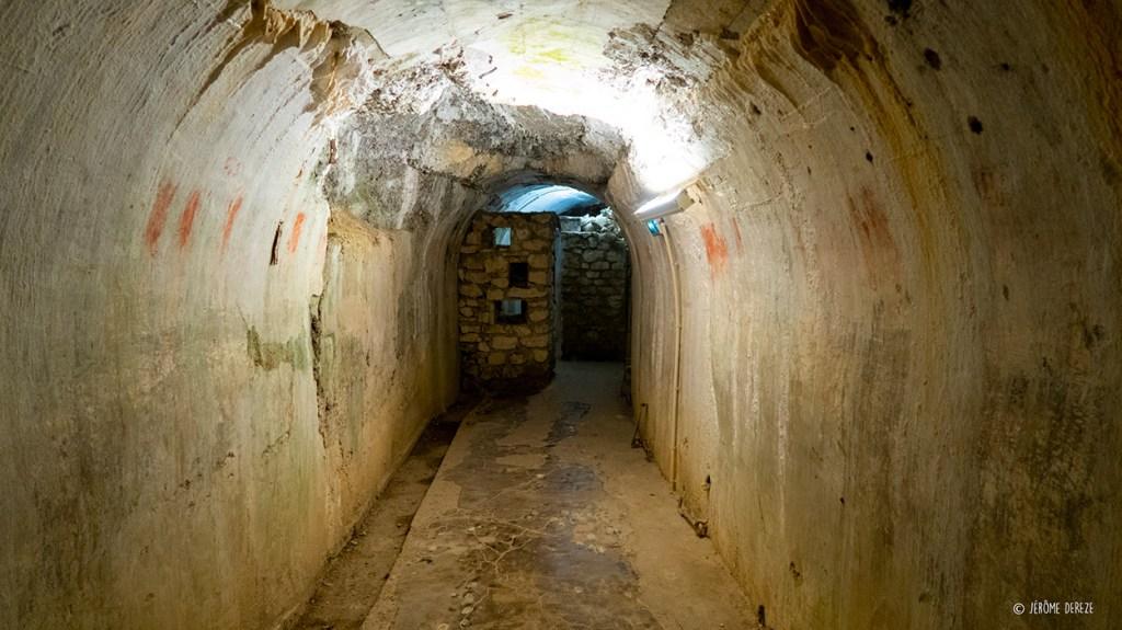 intérieur du fort de vaux