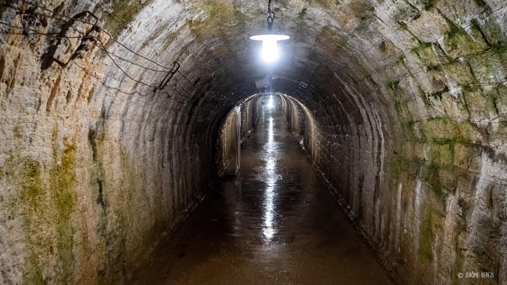 Galerie souterraine au fort de douaumont