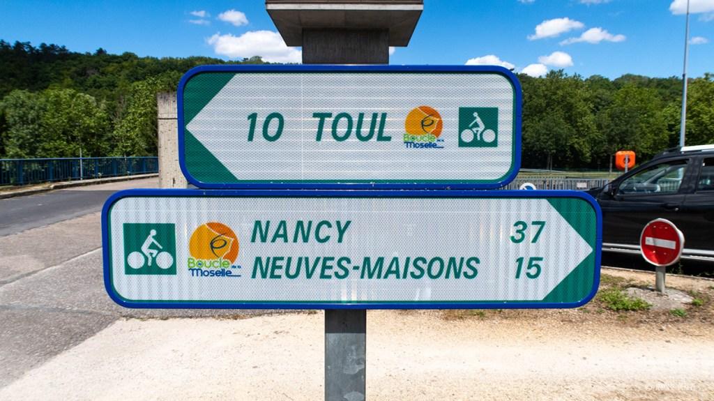 Panneaux de la Boucle de la Moselle