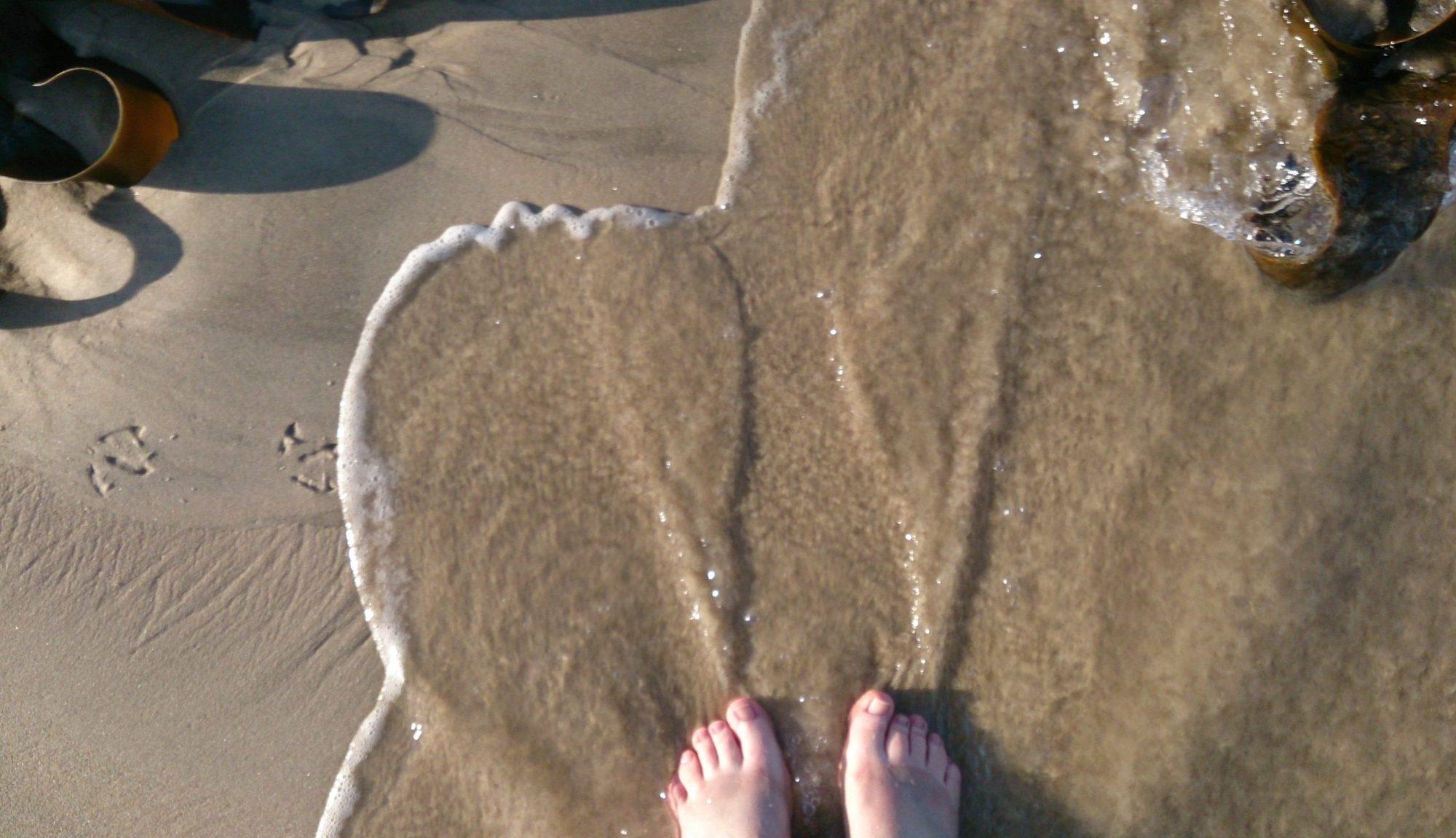 Traversing Neck Beach