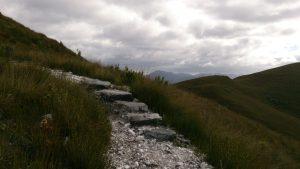 Ascending Mount Donaldson