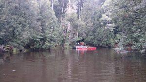Kayaks at the Savage River