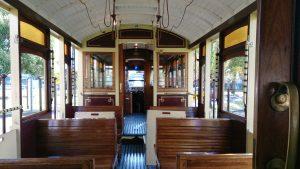 Tram 29 Interior