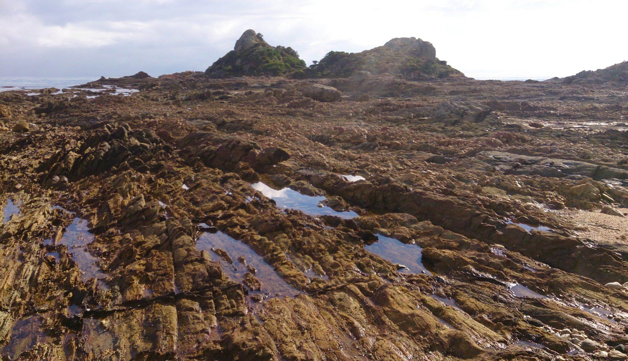Traversing Goat Island