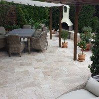 outdoor travertine tiles - TRAVERTINE - TILES - PAVERS ...