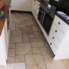 Stone Kitchen Flooring Cost Of Remodeling Cleaning And Polishing Tips For Travertine Floors Floor Before