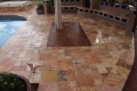 TRAVERTINE PATIOS, PAVERS & DECKING GALLERY - Baker's ...