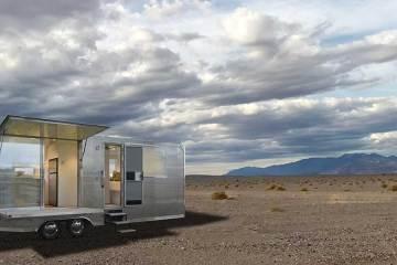 Vive desconectado del mundo: Glamour y sostenibilidad en ésta micro casa sobre ruedas.