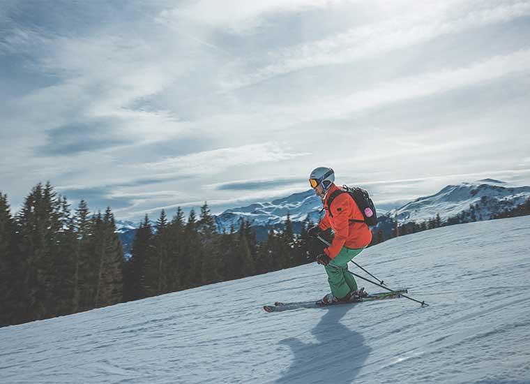 Nunca desciendas una pista de dificultad sin saber esquiar / Foto: Ben Koorengevel