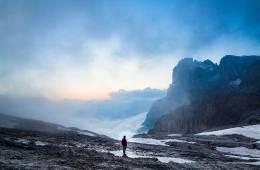 Guía práctica sobre el tiempo para aficionados a la montaña / Foto: Luca Baggio