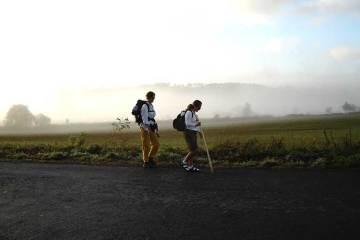 Lesiones y problemas físicos padecidos por senderistas y cicloturistas en una ruta por etapas