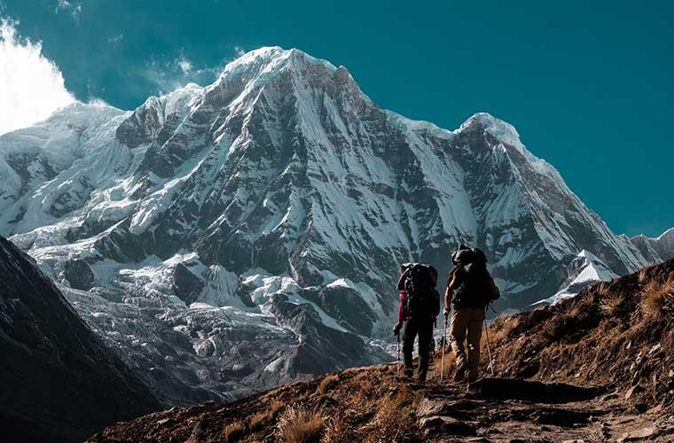 Trekking al Campo Base del Annapurna / Foto: Aaron Benson