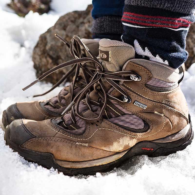 Comprueba que el calzado no queda demasiado ajustado / Foto: Fidel Fernando