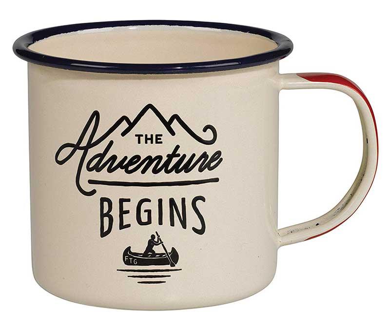 "Taza ""The Adventure Begins"""