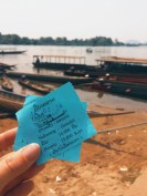 Tickets for the boat to Don Det