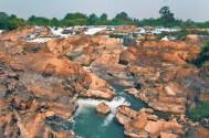 Waterfall on Don Khon
