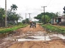 Typical Cuban road