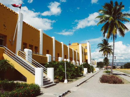 Moncada barracks where Fidel Castro started the revolution