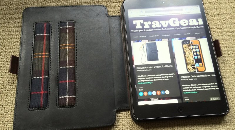 Proporta Barbour Brown Leather Case_2