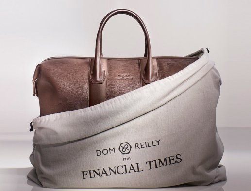 Dom Reilly FT collection Weekender luxury travel bag