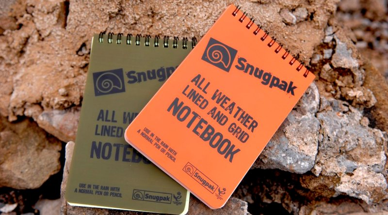 Snugpak Water Resistant Notebook