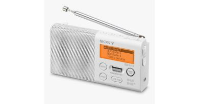 Sony XDR-P1 portable DAB radio