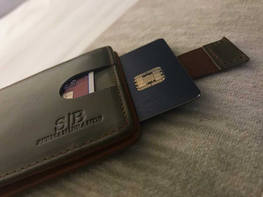 Serman Brands Slim Wallet