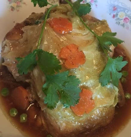 Teochew steamed chicken
