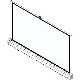 Projection Screens BIM Objects