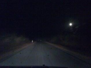 Zambia by night.