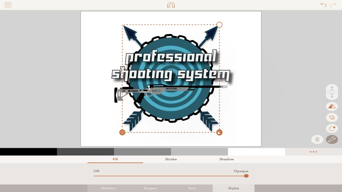 Professional Shooting System – Concept Logo