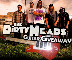 WIN - Autographed Ernie Ball Electric Guitar From The Dirty Heads