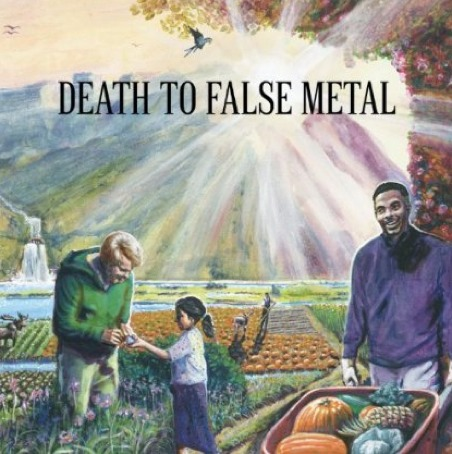 Weezer B-Side Album 'Death To False Metal' Cover Artwork