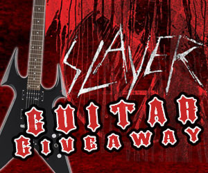 WIN - Slayer's The Vinyl Conflict Box Set And Custom Kerry King BC Rich Beast V Guitar
