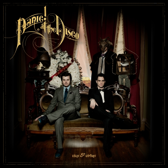 Panic! At The Disco 'Vices and Virtues' Album Cover