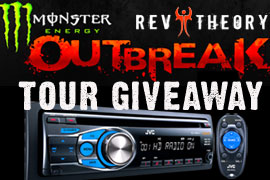 Giveaway - JVC KDHDR44 With HD Radio And Signed Rev Theory Poster