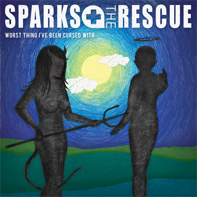 Sparks 'The Rescue Worst Thing I've Been Cursed With' Album Cover Artwork