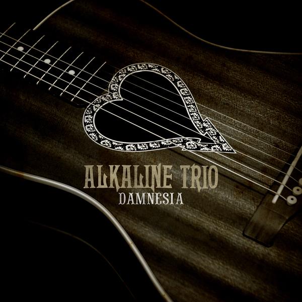 Alkaline Trio 'Daminesia' Accoustic Album Artwork