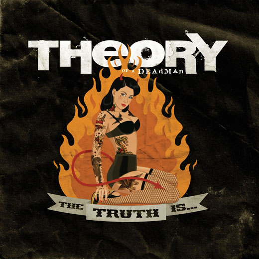 Theory Of A Deadman Reveal 'The Truth Is...' Cover Art