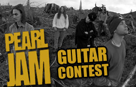 Contest - Win A Epiphone Les Paul Custom Guitar From Pearl Jam