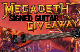 Win - Megadeth Signed Dean VMNTX Electric Guitar